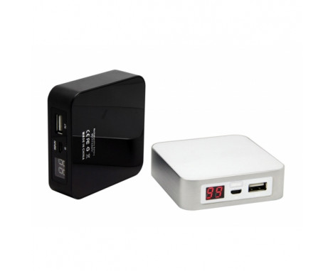 Power Bank 6600mAh czarny